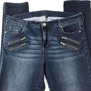 Kut from the Kloth Stretch Skinny High Rise Jeans
